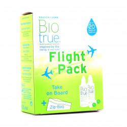 Biotrue Solution Multifonctions Spécial Avion Lot de 2 x 60 ml