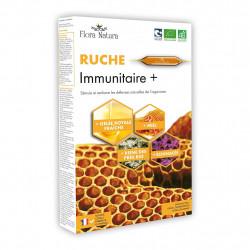 Flora Natura® La Ruche: Immunitaire BIO 10 ampoules