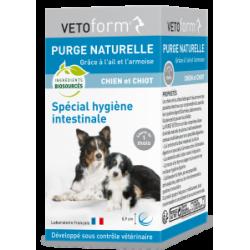 Vetoform purge naturelle chiot et chien cp