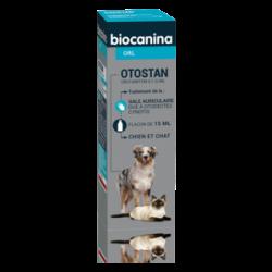 Biocanina Otostan Solution Auriculaire Chien Et Chat15ml