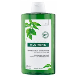 Klorane Shampoing à l'Ortie Bio - Séborégulateur 400 ml