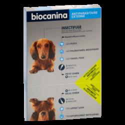 Biocanina Insectifuge naturel spot-on petit chien