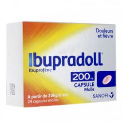 IBUPRADOLL 200MG 24 CAPS MOLLES