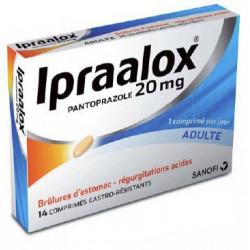 IPRAALOX 20 MG 14 CPS