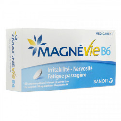 MAGNEVIE B6 100mg/10mg 60 comprimés pelliculés