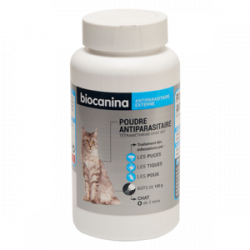 Biocanina Poudre antiparasitaire chat 150g