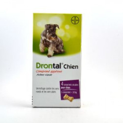 Drontal chien 4 cp