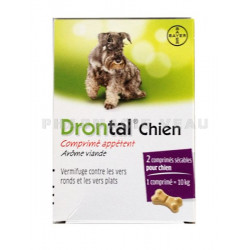 Drontal chien 2cp