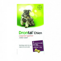 Drontal chien 6cp