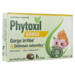 Phytoxil Gorge irritée 20 pastilles