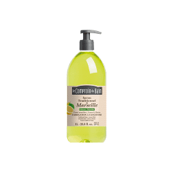 Le comptoir du bain savon traditionnel de marseille citron menthe 1L