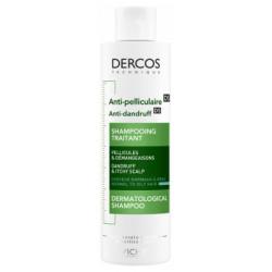 Vichy Dercos Shampoing Traitant Anti-Pelliculaire Cheveux Normaux à Gras 200 ml