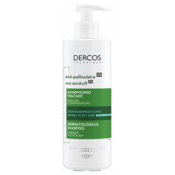 Dercos Shampooing Anti Pelliculaire Normalisant Grand Modèle
