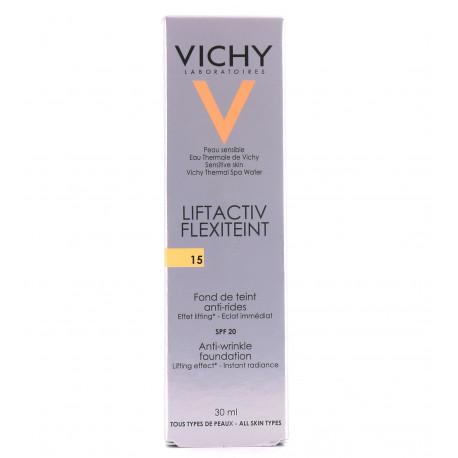 Vichy Liftactiv Flexiteint Fond de Teint Anti-Rides SPF 20 30 ml 15 Très Clair