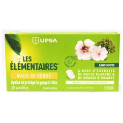 Les élémentaires UPSA Pastilles maux de gorge X20