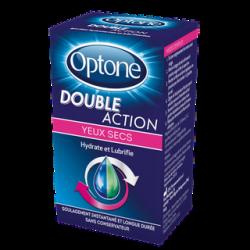 Optone Double Action Yeux Secs 10 ml