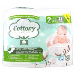 Cottony Couche Bébé T2 x38
