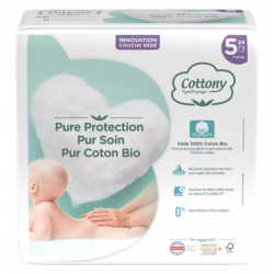 Cellulose. Coton Bio.