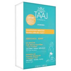 Taaj Abhyanga Kit Huile Minceur 100 ml + Gant Garshan