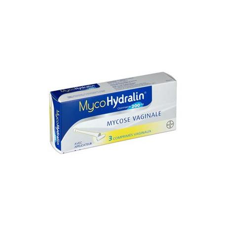 MycoHydralin comprimés vaginal 200 mg 3 comprimés
