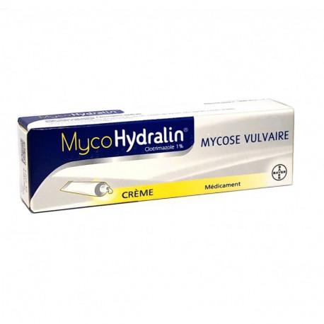 MycoHydralin 1% crème mycose vulvaire 20g