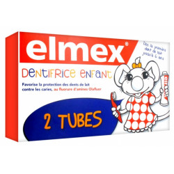 ELMEX ENF DENT 3-6 ANS 2X50ML