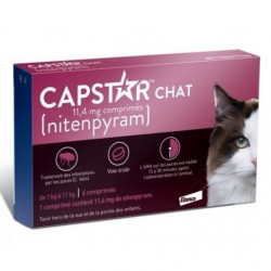 Capstar chat 11.4mg