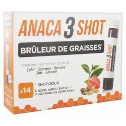 Anaca 3 Shot Brûleur de graisses 14 shots