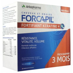 FORCAPIL FORTIFIANT KERATINE 3 MOIS
