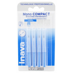 Inava 4 Brossettes Interdentaires - Taille 0,8 mm