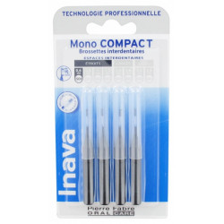 Inava 4 Brossettes Interdentaires - Taille 0,6 mm