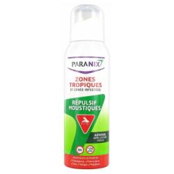 Paranix Répulsif Moustiques Zones Tropiques et Zones Infestées 125 ml