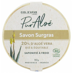 Pur Aloé Savon Aloé Vera 20% Surgras Bio 90 g