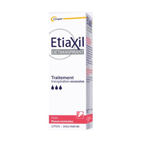 Etiaxil Déotranspirant Peaux normales Lotion Pieds 100ml