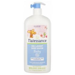 Natessance Gel Lavant Sans Savon Baby Bio 500 ml