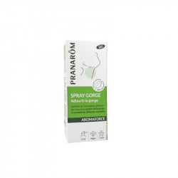 Pranarom aromaforce spray gorge bio 15ml