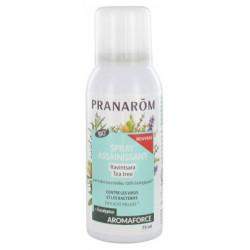 Pranarôm Aromaforce Spray Assainissant Ravintsara Tea Tree Bio 75 ml