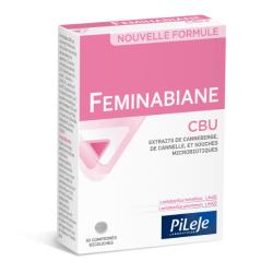 Pilèje Feminabiane CBU 30 comprimés