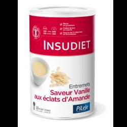 Insudiet Entremets saveur Vanille éclats d'Amande - 300 g