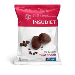INSUDIET MINI CAKES TOUT CHOCOLAT 12X30G