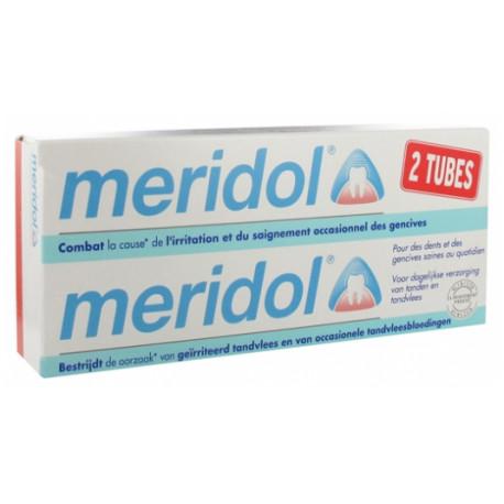 Meridol Dentifrice Lot de 2 x 75 ml