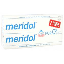Meridol pur dentifrice 2x75ml