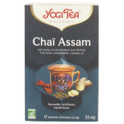 Yogi Tea Chaï Assam Bio 17 Sachets