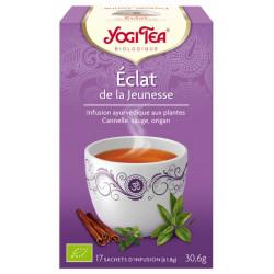 Yogi Tea Infusion Eclat Jeunesse 17 sachets
