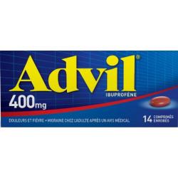 Advil 400 mg 14 comprimés enrobés