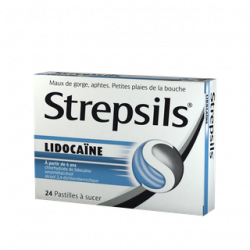 Strepsil lidocaine 24 pastilles
