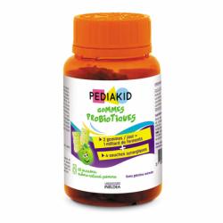 Pediakid Gommes Probiotiques 60 oursons