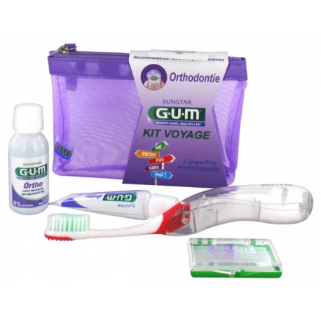 Gum Kit Voyage Orthodontie