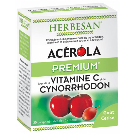Herbesan Acérola Premium 30 Comprimés