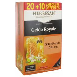 HERBESAN GELEE ROYALE 20 AMP+10 PROMO